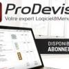 ProDevis 6: nouvelle formule en abonnement