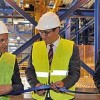 Saint-Gobain Glass inaugure une ligne de production