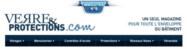 Newsletter Verre & Protections magazine