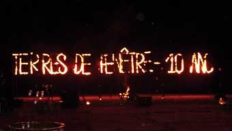 Terres De Fenêtre Fête Son 10e Anniversaire à Marrakech Verre