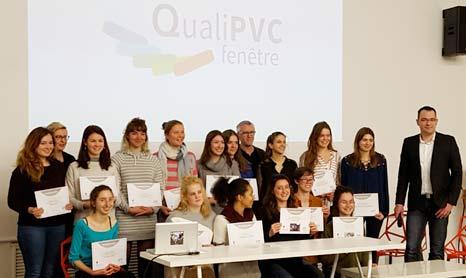 Remise des Trophées 2017 du concours design ''Révéler le PVC, perspectives d'espace pour QualiPVC''