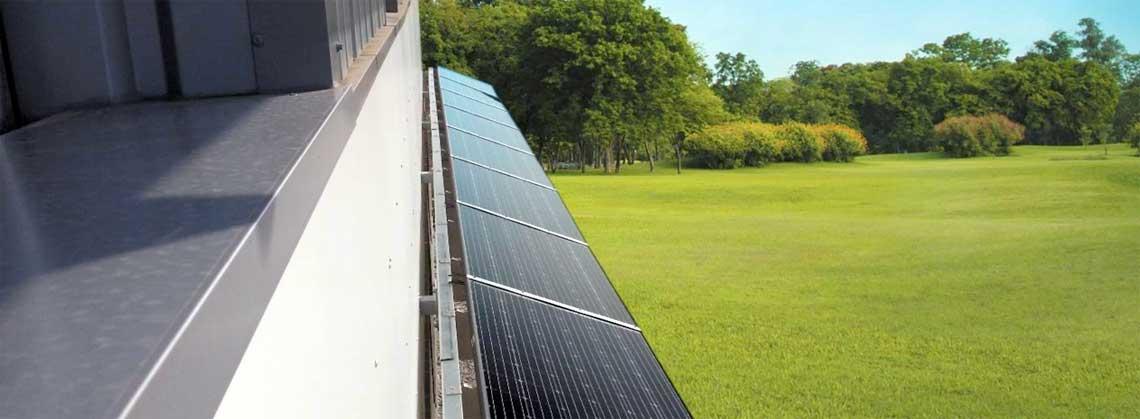 Mobasolar lance MobafixTM BS, le premier brise-soleil photovoltaïque