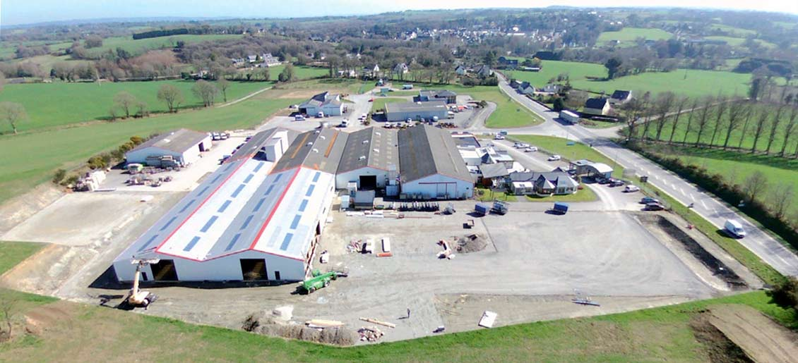 Vérandaline réorganise son capital et agrandit son site de production à Corlay