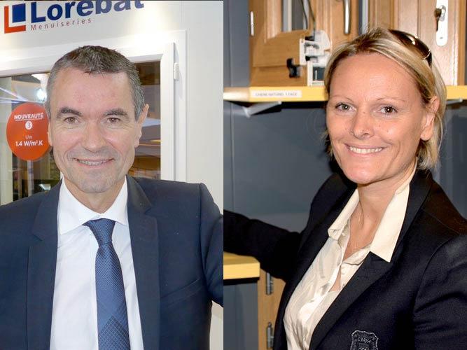 """Thierry Luce (Lorénove) et Cécile Sanz (Art & Fenêtres) réagissent à leur bon classement à l'enquête de satisfaction """"Que Choisir"""""""