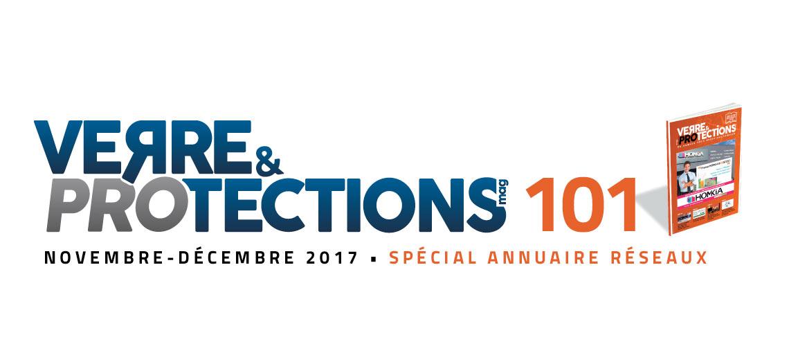 Verre & protections magazine 101 en avant-première
