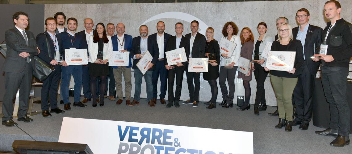 """Les gagnants du premier """"Grand Prix des Réseaux - Verre & Protections Mag"""""""