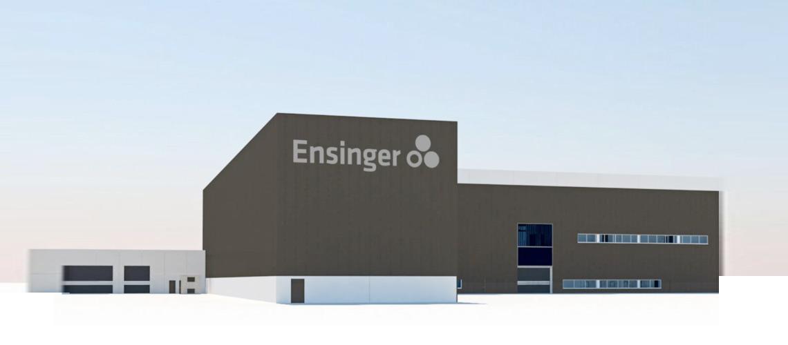 Ensinger agrandit le site de Cham