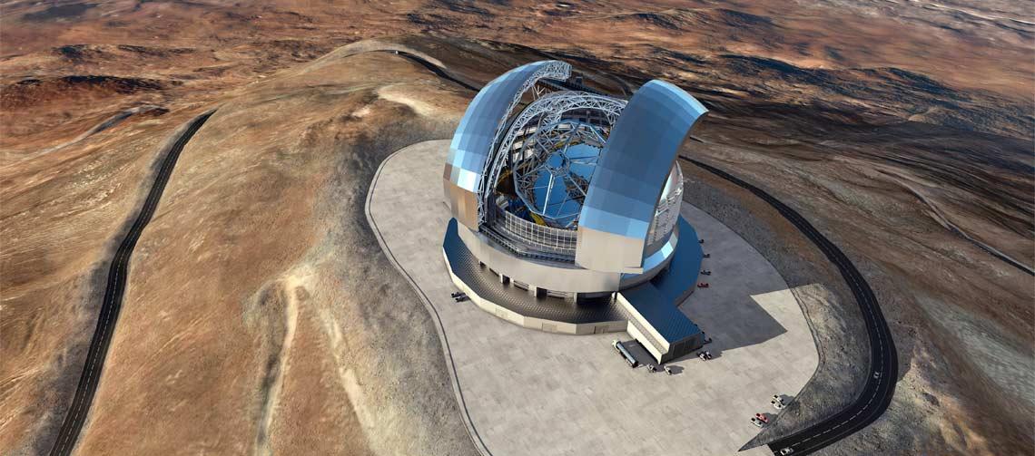AGC fournit le coater pour produire le miroir du plus grand téléscope au monde