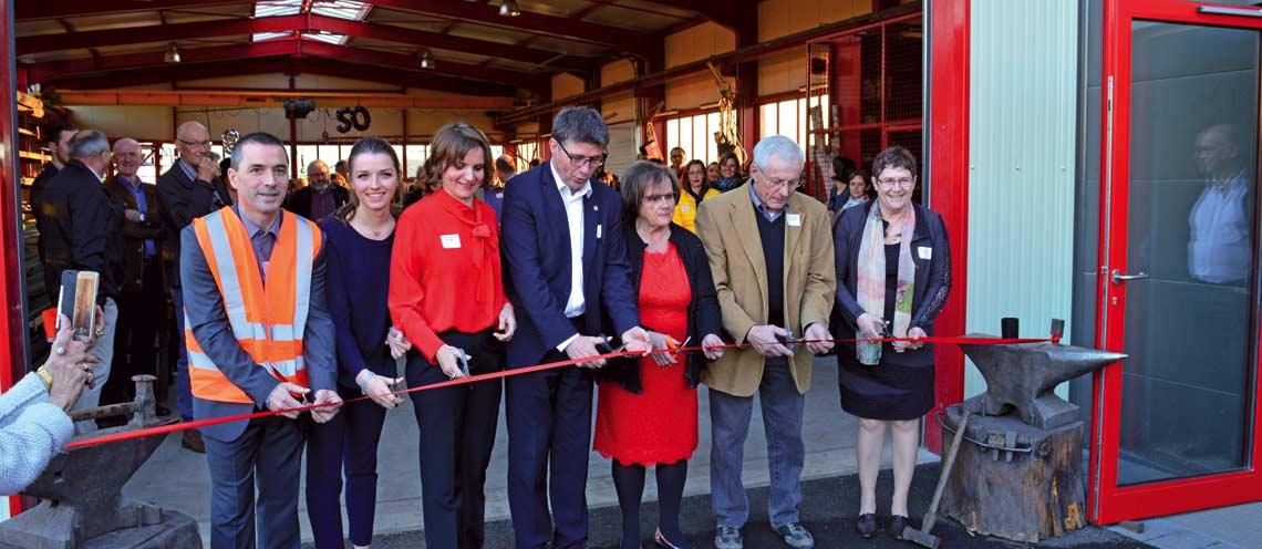 La métallerie Weber s'offre un agrandissement pour ses cinquante ans