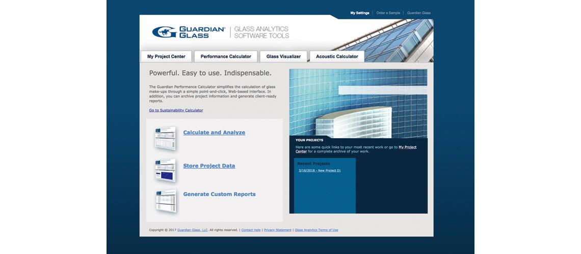 """Guardian lance """"Glass Analytics"""", une suite d'outils pour l'analyse du verre et des vitrages"""