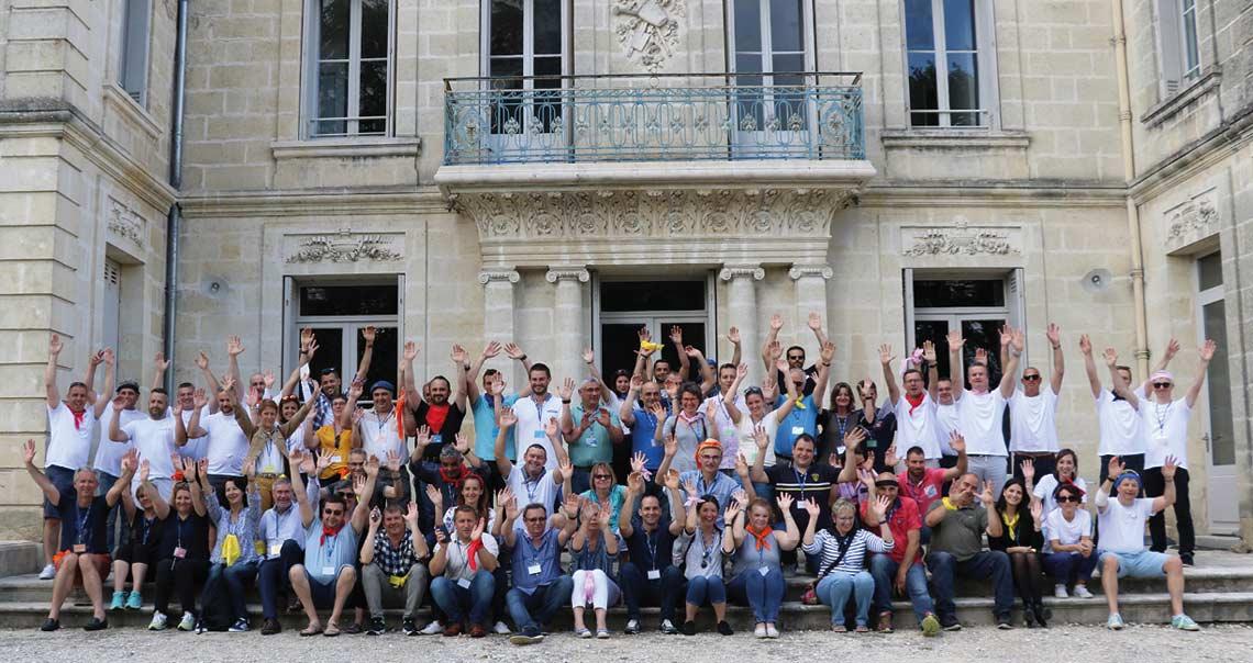 Gamme Baie Huet : convention annuelle dans le Bordelais