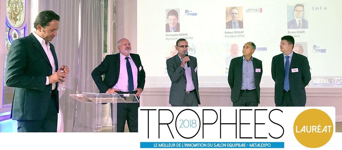 Qui sont les gagnants des Trophées de l'innovation Equipbaie 2018 ?
