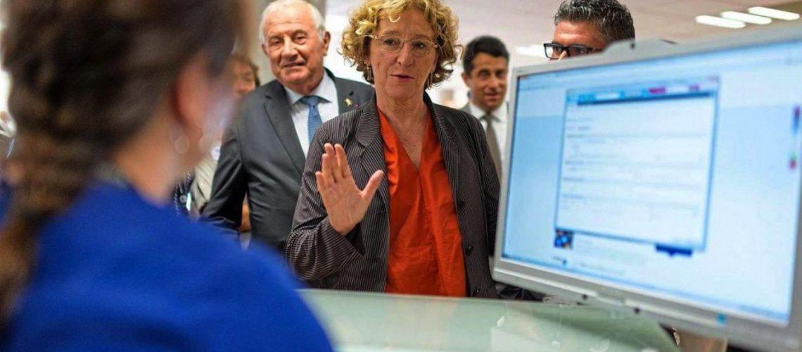 Muriel Pénicaud, Ministre du Travail, visite le Pôle Fenêtre à Equipbaie le 22 novembre