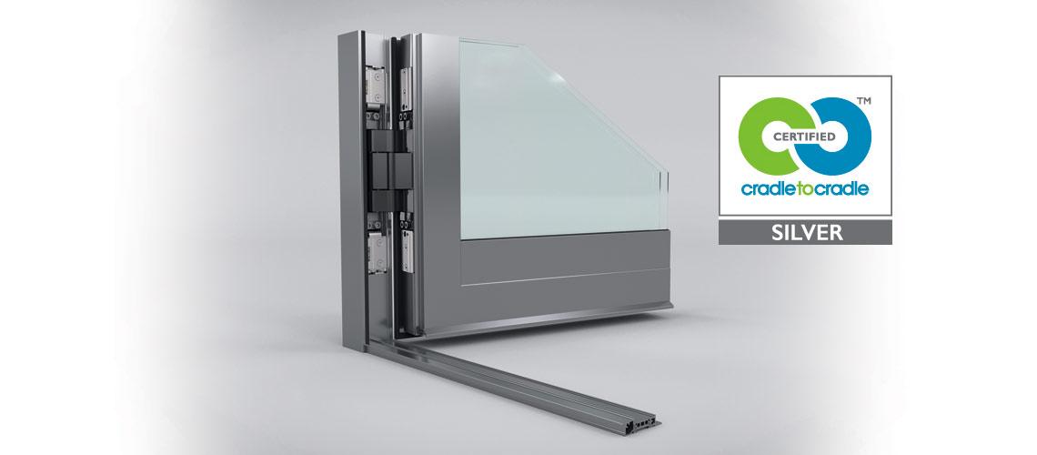 Certification Cradle to Cradle Argent pour les solutions aluminium Wicona