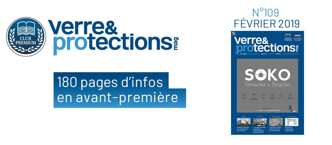 Verre & protections magazine 109 en avant-première