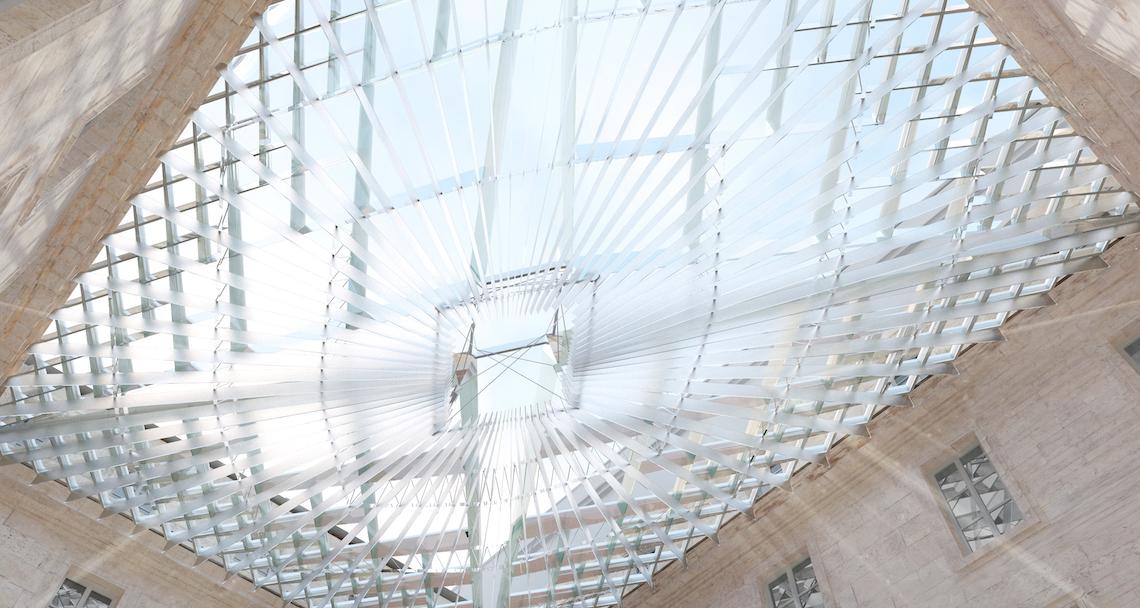 Les Fondations Velux mécène d'une verrière abritant l'Hôtel de la Marine à Paris