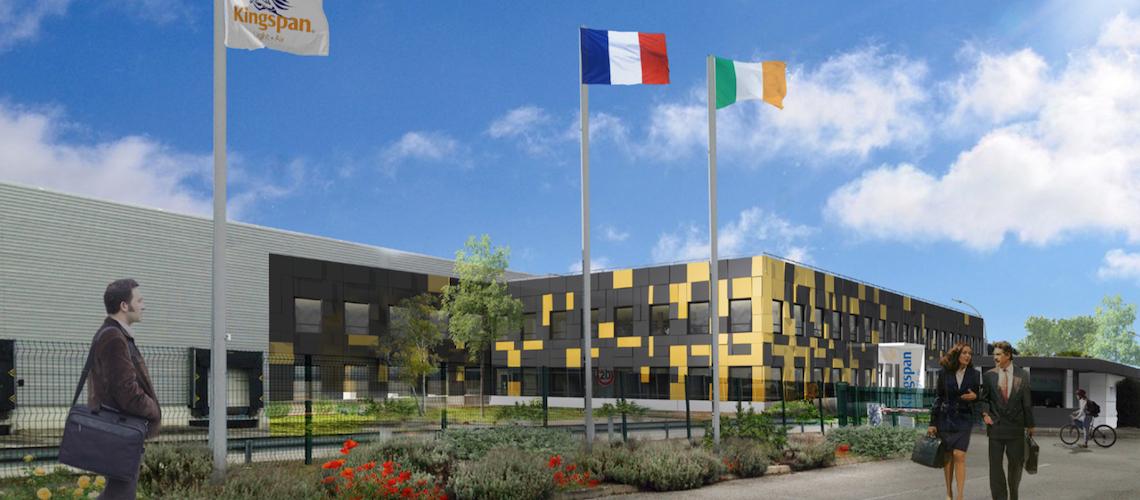 Un nouveau siège social français de 30 000 m2 pour Kingspan Light + Air