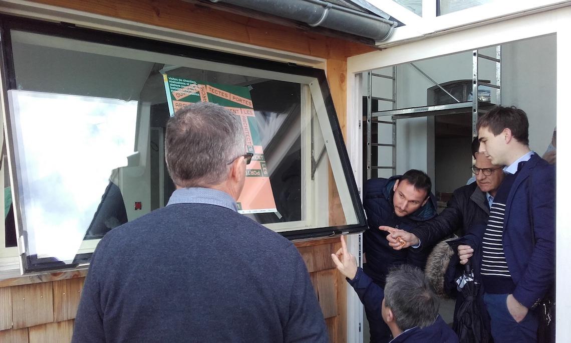 """Création de """"LumiVec Le Club"""" pour le transfert de technologie du vitrage collé sur châssis bois"""
