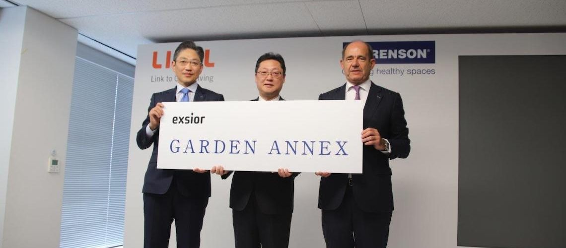 Avec Lixil, Renson renforce sa présence au Japon