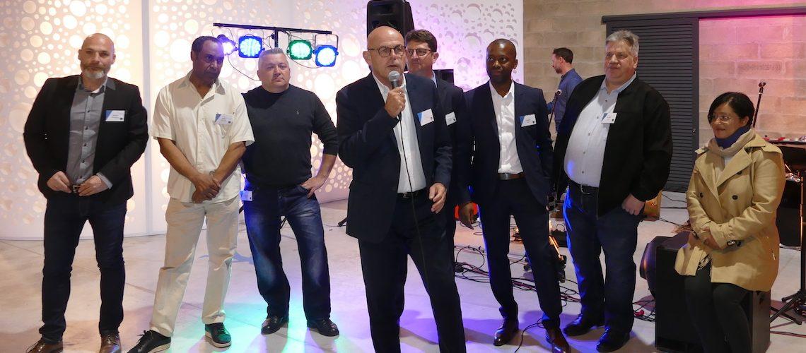 Inauguration du nouveau show-room Point Services Technal d'Alfortville