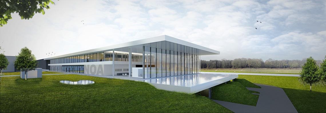 Un futur Centre d'Expérience Outdoor pour Renson en 2021