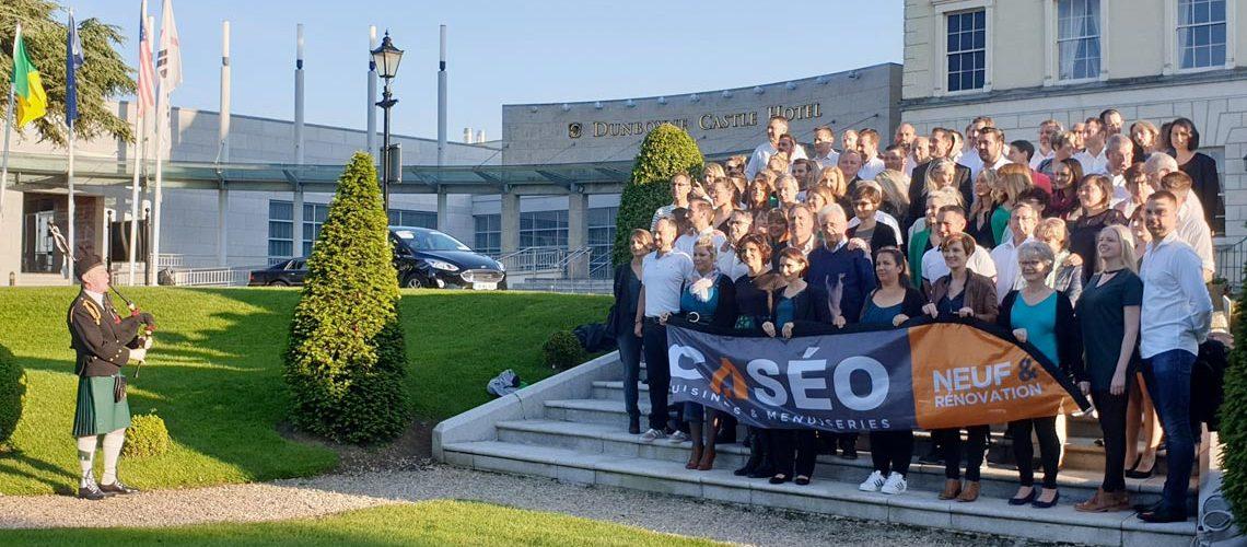 Douzième convention Caséo à Dublin