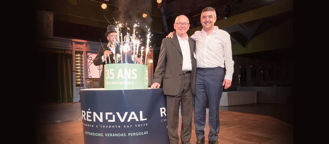 Rénoval célèbre ses 35 ans