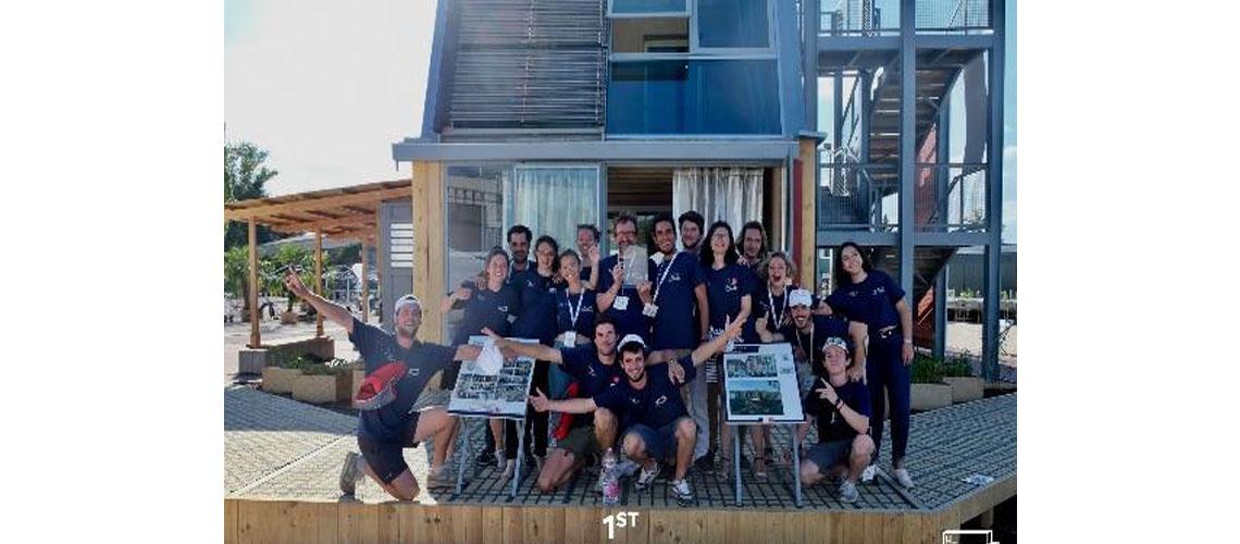 """L'équipe des Hauts de France """"Habiter 2030"""" sponsorisée par Dickson Constant remporte le Solar Decathlon Europe 2019"""