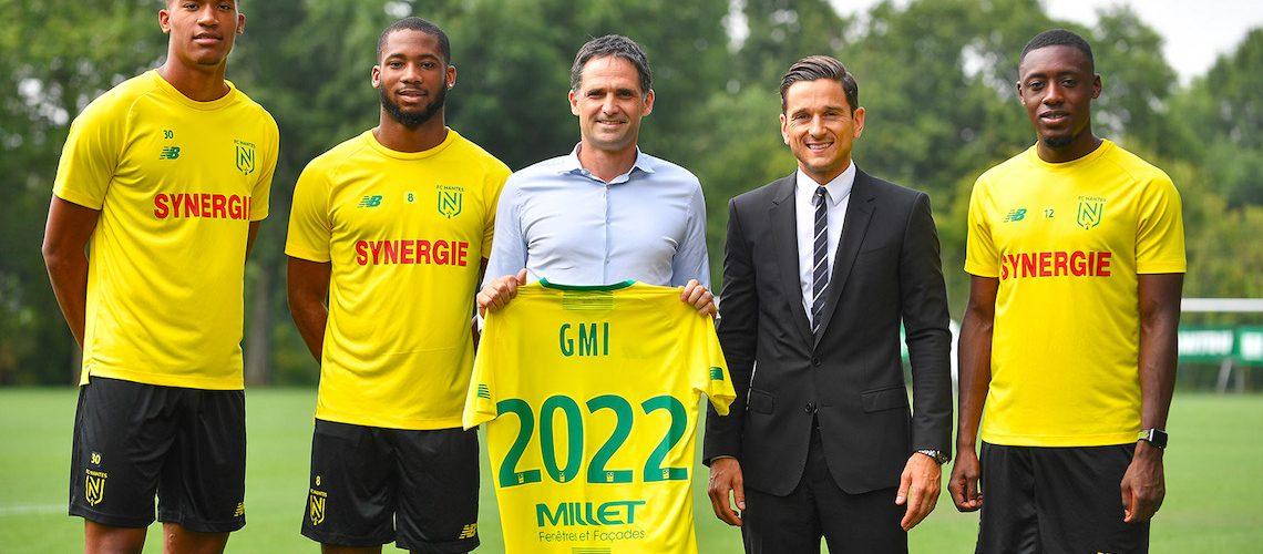Millet devient partenaire officiel du FC Nantes