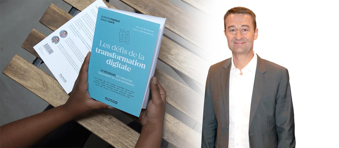 """CAIB et son directeur général, Patrice Bondy, témoignent dans le livre """"Les défis de la transformation digitale"""""""