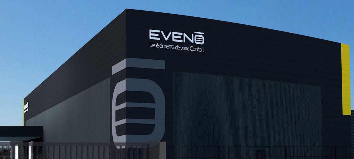 Eveno Fermetures va inaugurer un nouveau bâtiment de 3 500 m2