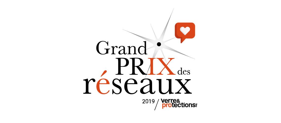 """Votez pour le """"Coup de cœur des lecteurs"""" du Grand Prix des Réseaux - Verre & Protections Mag 2019"""