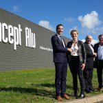Concept Alu signe un accord d'exclusivité avec Riou Glass et intègre le vitrage chauffant CalorGlass à son offre