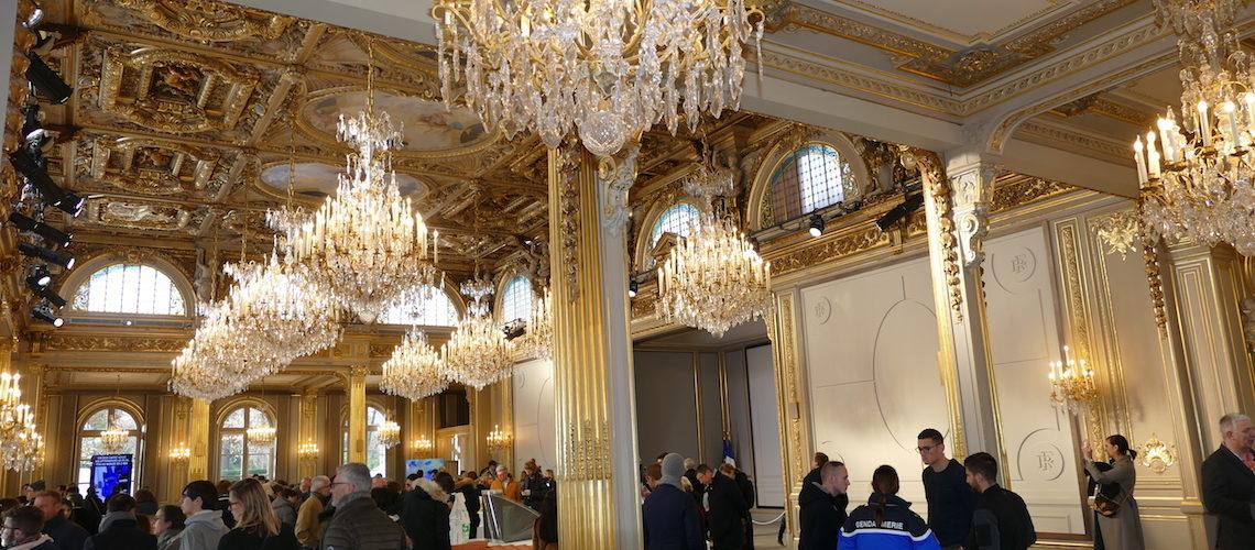 Somfy, Delta Dore, Picard Serrures et Grav'Or à l'honneur au Palais de l'Elysée