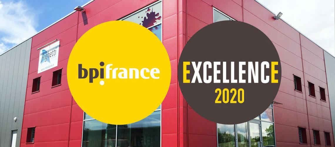 Righetti rejoint le réseau BPIfrance Excellence