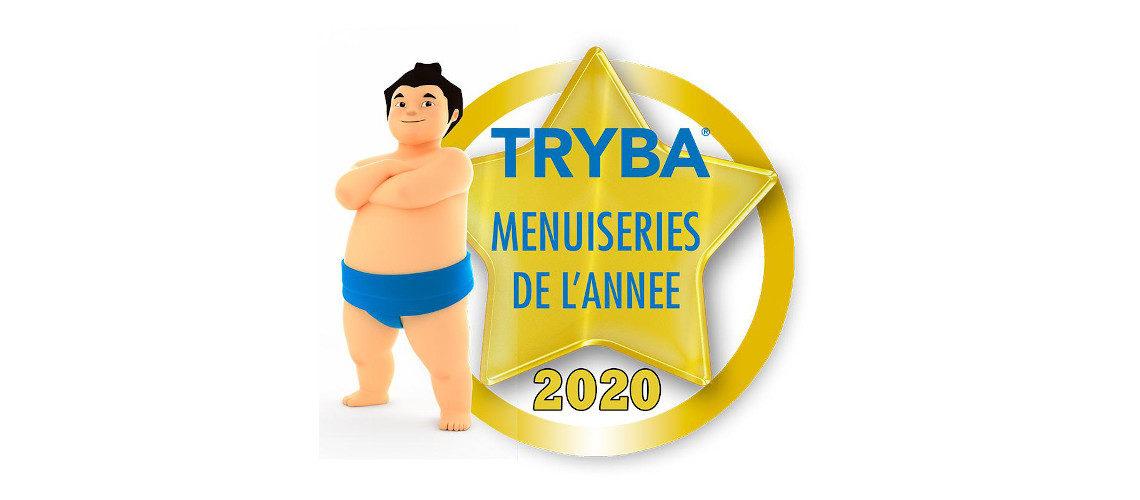 """Tryba élu """"Menuiseries de l'année 2020"""" suivi de Art & Fenêtres et K par K"""