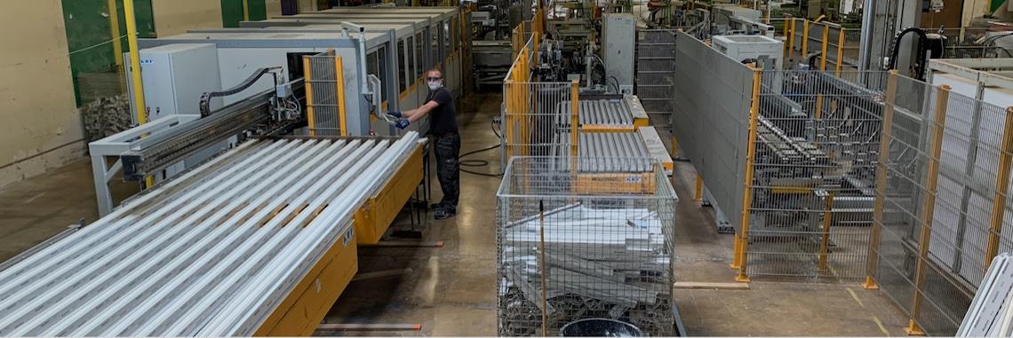 Grégory Meriaux a repris la menuiserie DG menuiserie qui devient MIndustries