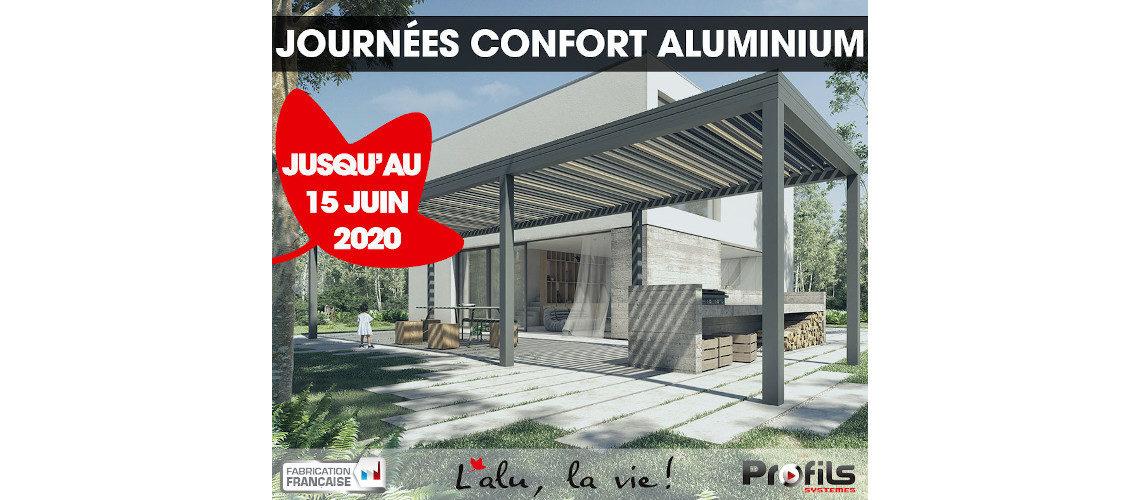 """Profils Systèmes lance les """"journées confort aluminium"""" du 11 mai au 15 juin 2020"""