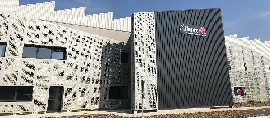 Visite en photos de AM-X/SO, la nouvelle usine 4.0 d'Atlantem