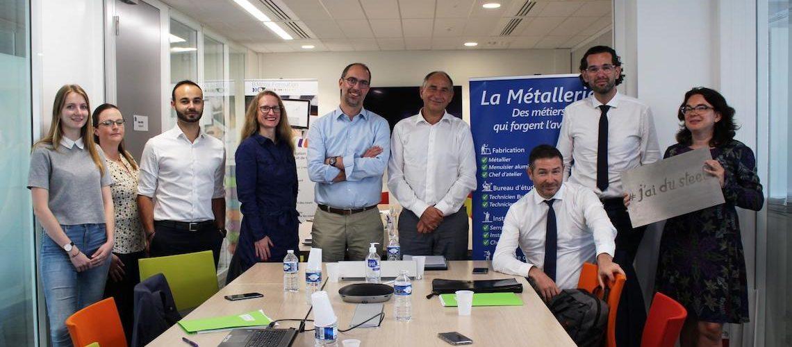 Franck Perraud réélu président de l'Union des métalliers