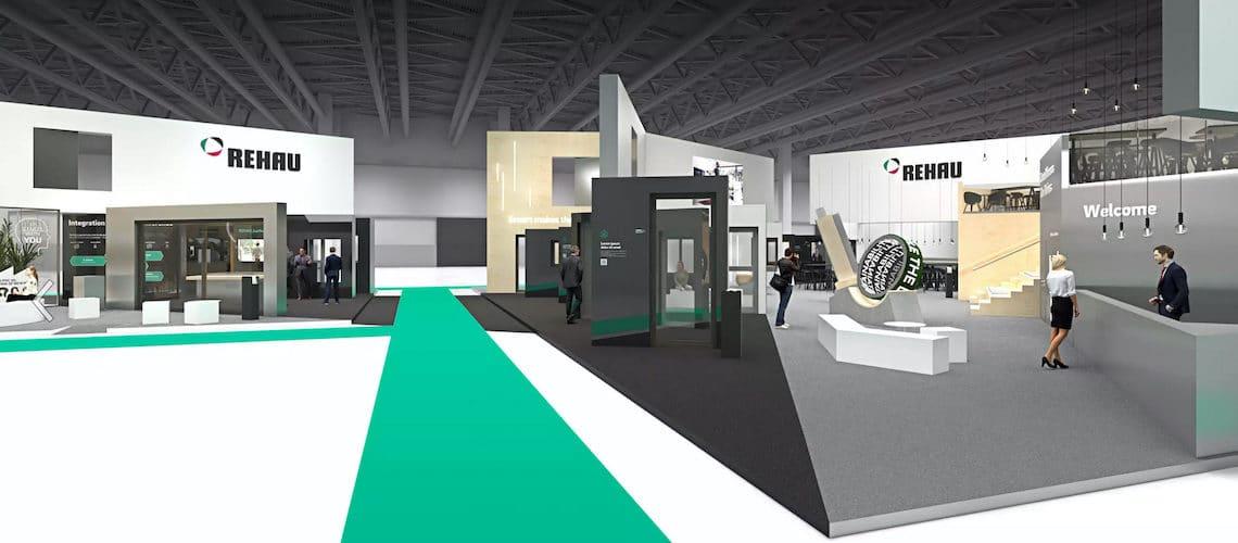 """Rehau présente son """"Virtual Tour"""" : visite virtuelle du stand prévu à Fensterbau"""