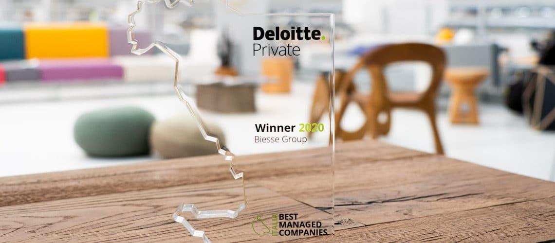 """Le groupe Biesse remporte le prix Deloitte """"Best Managed Companies"""""""