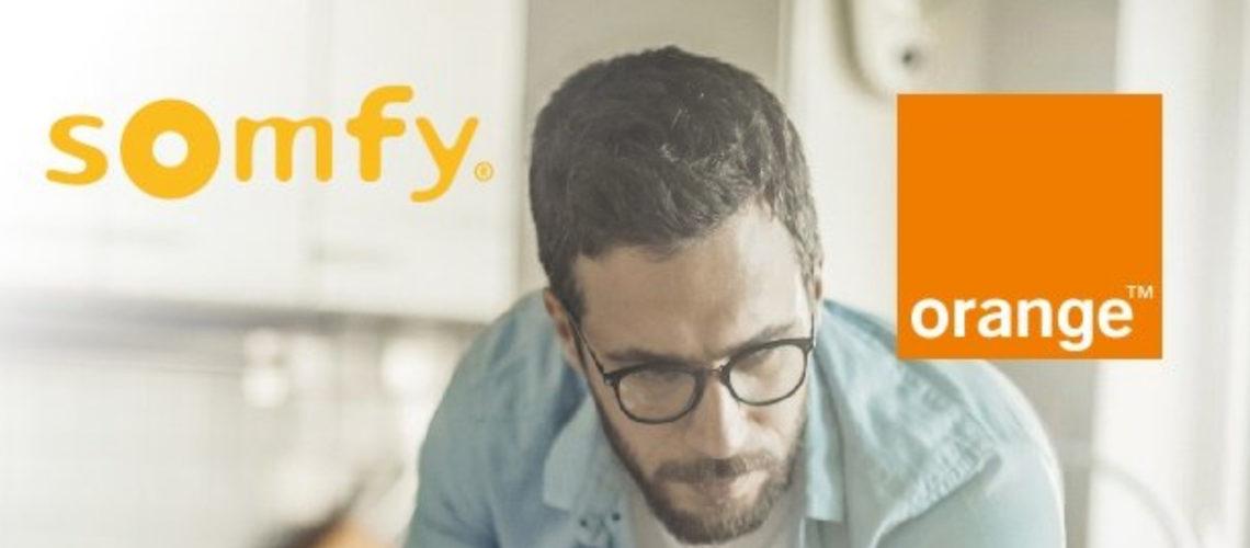 Orange et Somfy annoncent un partenariat pour développer l'expérience de la maison connectée
