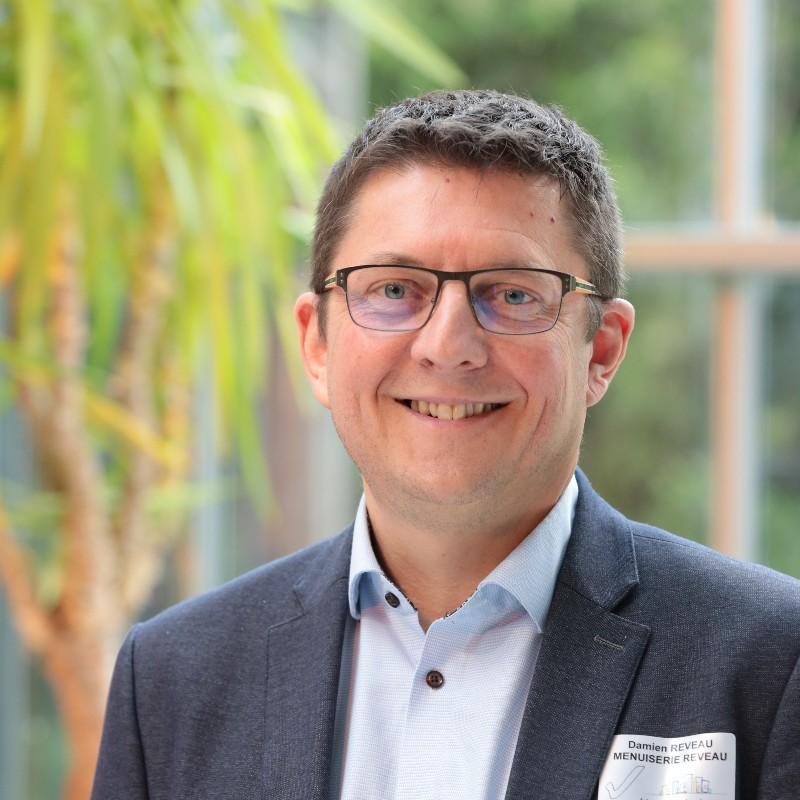 Damien Reveau élu président de Menuiseries 21
