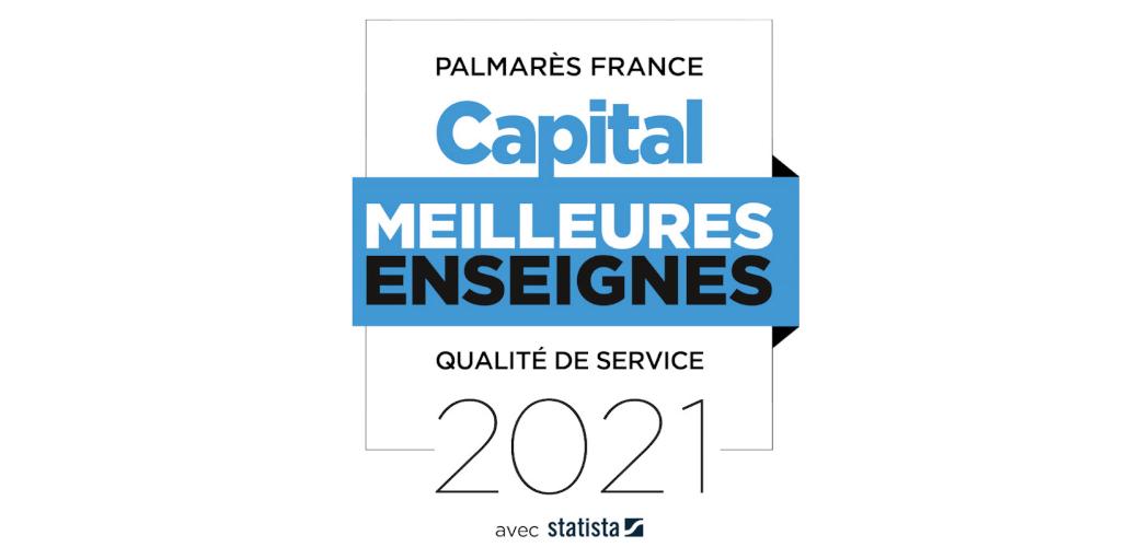 Velux, Fenétrier Veka, Solabaie, Stores de France, Storistes de France et Monsieur Store au Palmarès des Enseignes 2021 de Capital