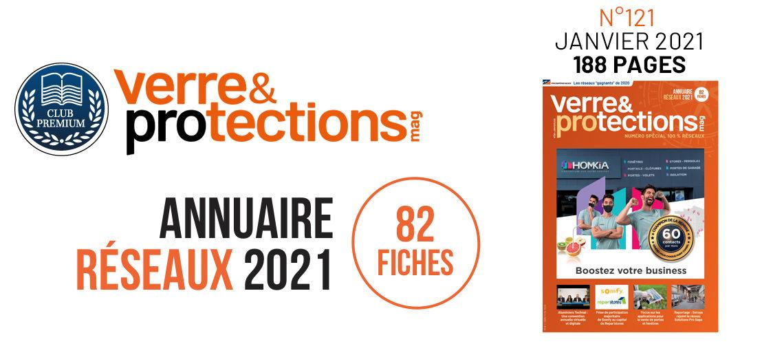 Verre & Protections Magazine n°121 spécial Réseaux en libre accès