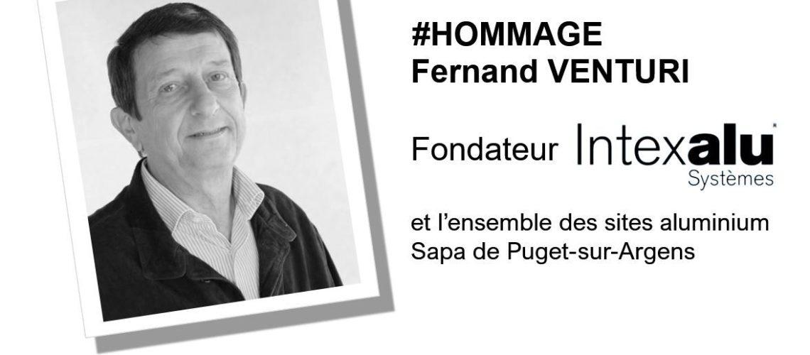 Disparition de Fernand Venturi, fondateur des sites Intexalu à Puget-sur-Argens