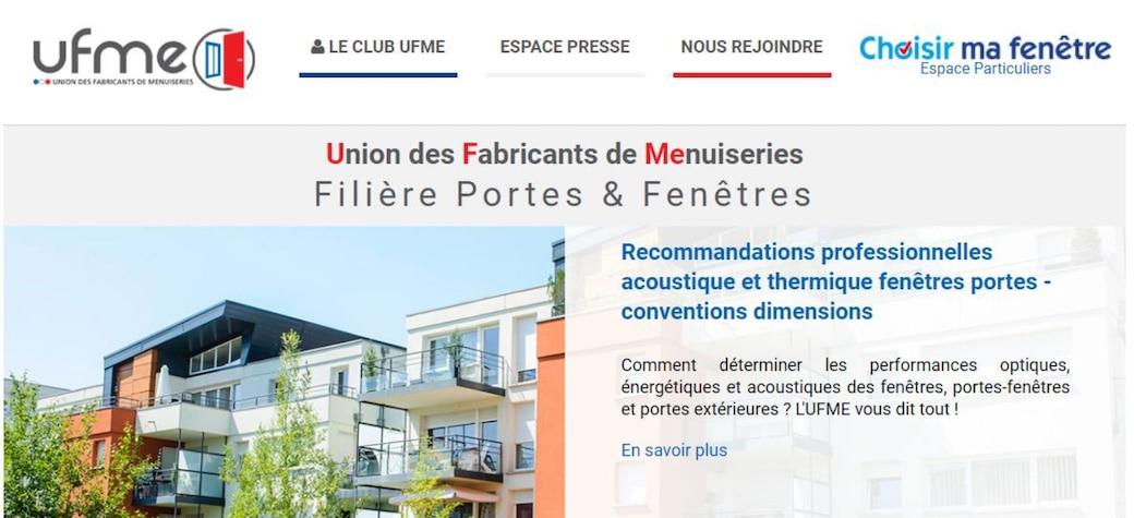 Le nouveau site web de l'UFME fait la part belle aux travaux des commissions... et à l'information