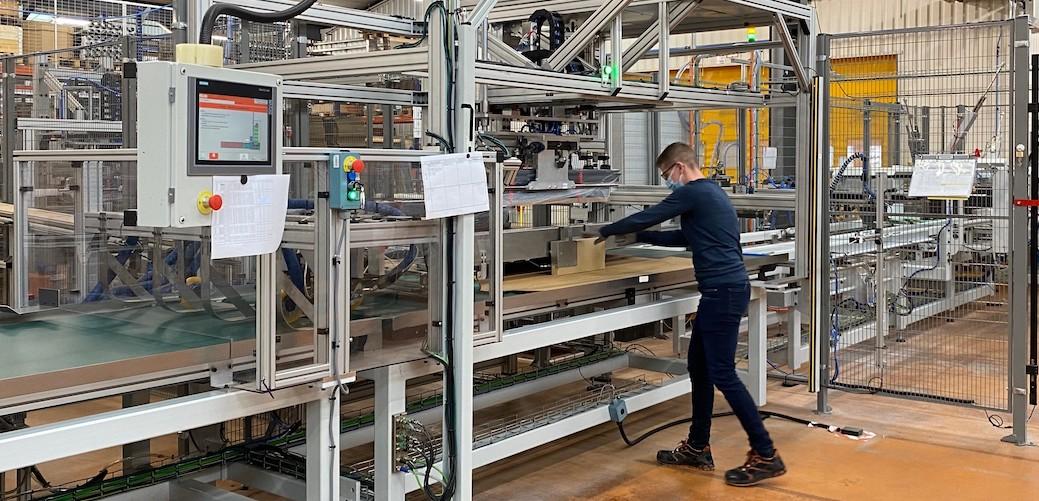 KH-SK investit 2,6 millions d'euros dans une nouvelle ligne de volets roulants pour Velux