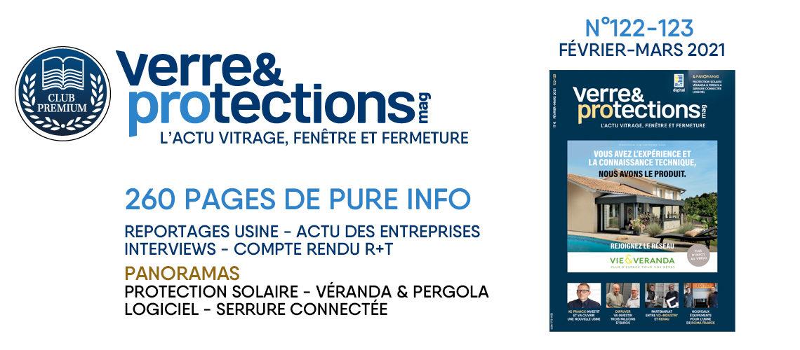 Verre & Protections Magazine n°122-123 en avant-première